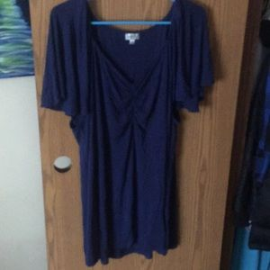 Blue woman's top